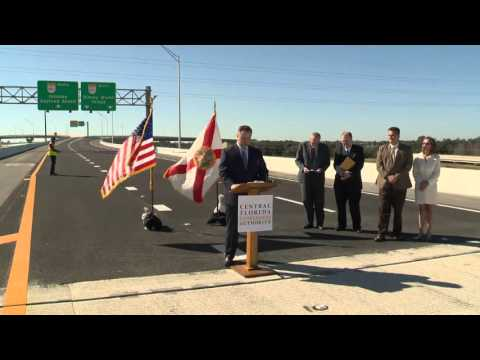 CFX   SR 417 Boggy Creek Interchange Opening