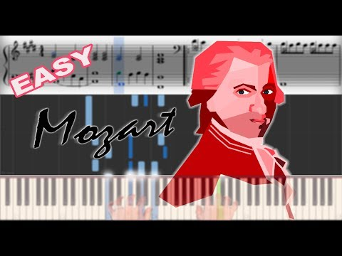 Mozart - Eine Kleine Nachtmusik | Sheet Music & Synthesia Piano Tutorial thumbnail