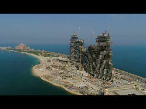 The Royal Atlantis Residences – July 2019 Drone Video