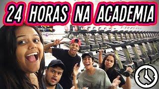 24 HORAS NA ACADEMIA!!! (DESAFIO) thumbnail