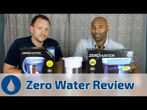 ZeroWater Pitcher Review: BRITA Pitcher Killer? See how they compare with our Hands On Water Test
