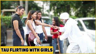 Tau Flirting With Cute Girls Prank | Chik Chik Boom