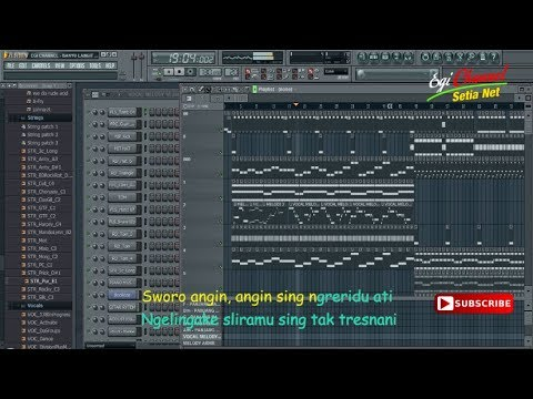 BANYU LANGIT Nella Kharisma (Karaoke) | Koplo Mantap...!