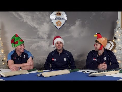 FEATURE: Christmas Party Games with Derbyshire CCC