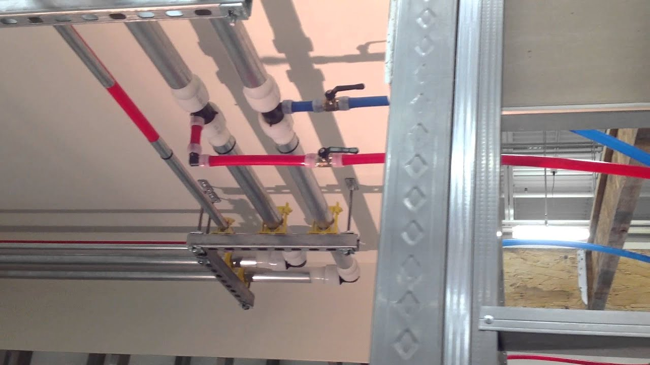 Commercial Plumbing Installation : Uponor commercial plumbing applications lab youtube