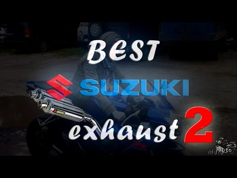 BEST Suzuki exhaust 2