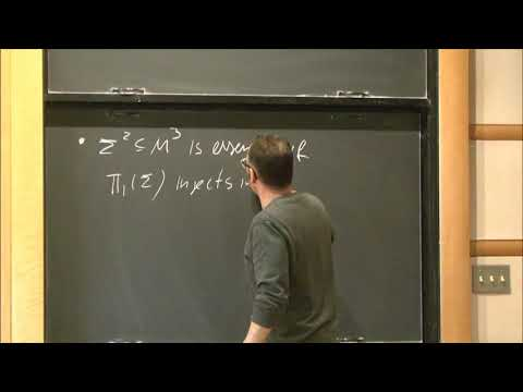 Progress on existence of minimal surfaces - Andre Neves