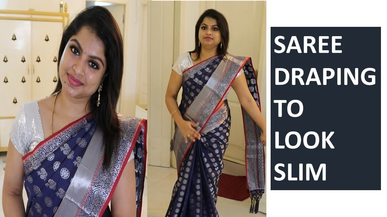 Download புடவயை இப்படி கட்டினால் ஒல்லியாக தெரிவீர்கள்|Saree draping to look slim|Best saree draping method