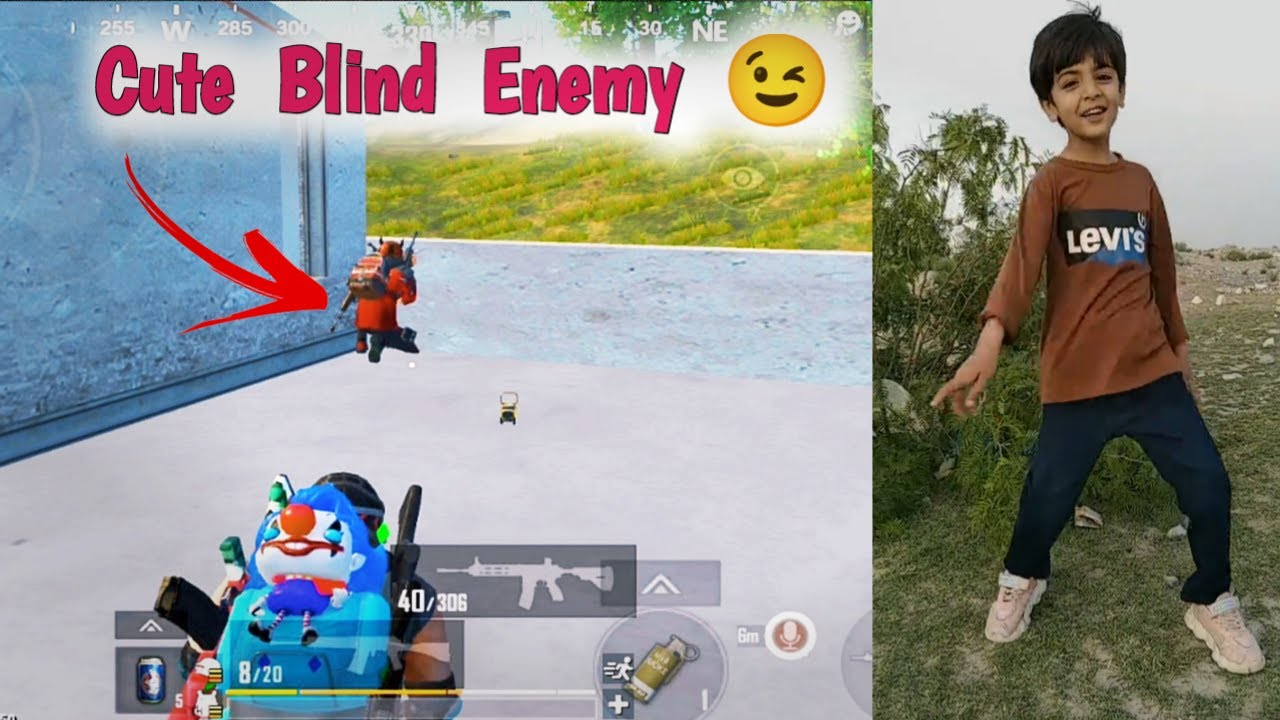 Another Blind Enemy Vs Me    Pubg lite Funny gameplay video comedy video full funny gameplay