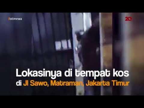 Detik-Detik Aksi Pencurian Motor Sport di Matraman Terekam CCTV