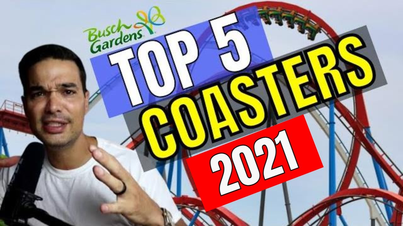 Top Roller Coasters at Busch Gardens Tampa 2020!