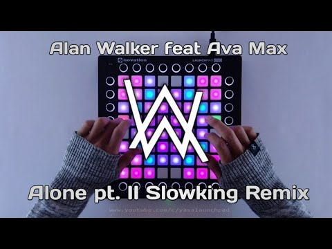 alan-walker-&-ava-max---alone-pt.-ii-slowking-remix-(launchpad-cover)-ivtex-music-✕-yasa-launchpad