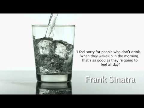 Funny Frank Sinatra drinking quote
