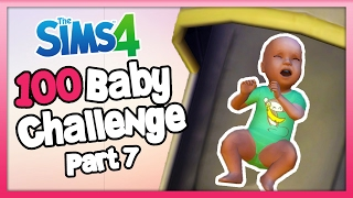 The Sims 4: 100 Baby Challenge with Toddlers - Part  7 - He's The Worst Baby!