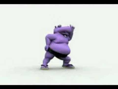 el hipopotamo bailando tra tra tra