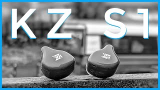 i AM LOVING THESE!!! - KZ S1 Hybrid True Wireless Earbuds Review