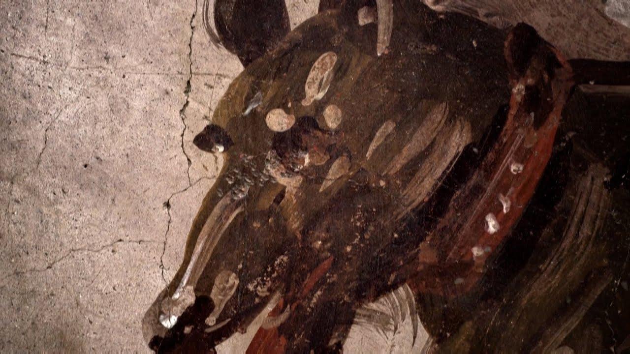 """Descubren en Pompeya un termopolio intacto, versión romana del """"fast food"""""""