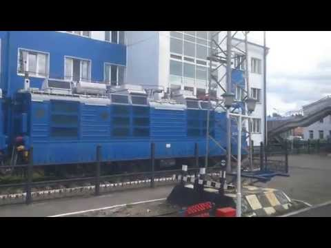 Прибытие в г. Нижнеудинск (ВСЖД)