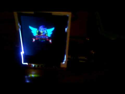 1 44 LCD with retropie tinypi image test