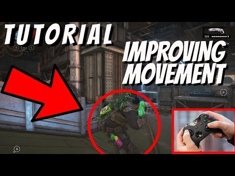 IMPROVING YOUR GEARS OF WAR 4 MOVEMENT (TUTORIAL) (HAND CAM) (GAMEPLAY)