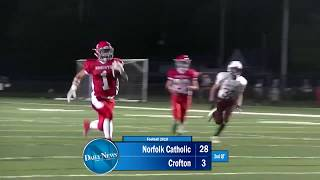 FOOTBALL: NCHS vs Crofton (9-21-18)