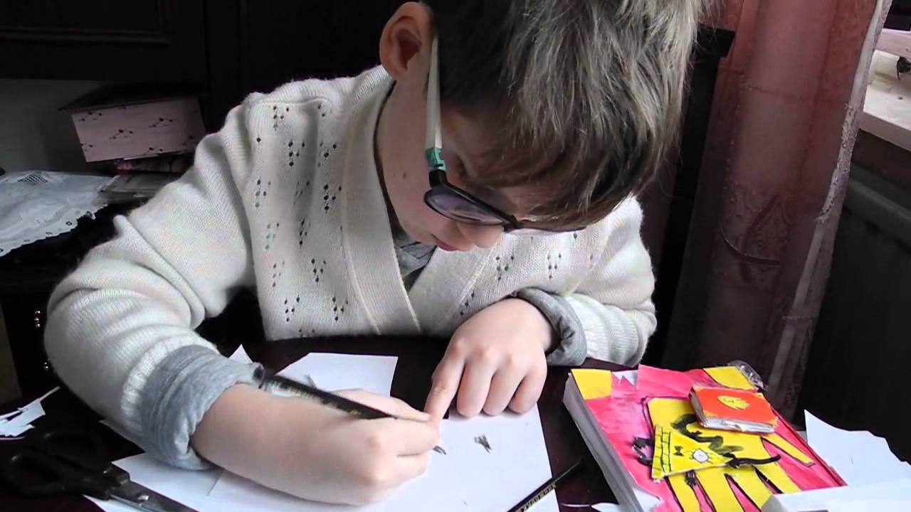 Как сделать Билла шифра из бумаги. UA-tv 27