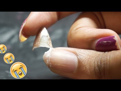 How To Strengthen your Thin, Brittle Nails this Winter!✌🏼😸 2nd ...