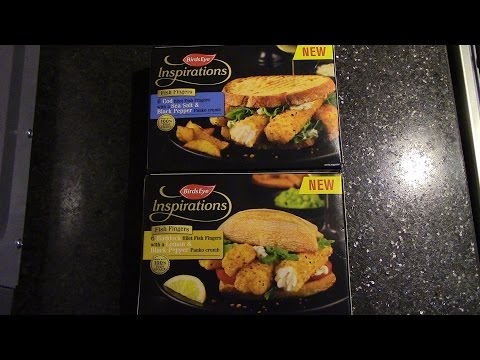 Birds Eye Inspirations Fish Fingers Review