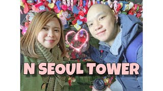 N SEOUL TOWER | LOVE LOCKS | NIGHT | Aiko Sy ♥