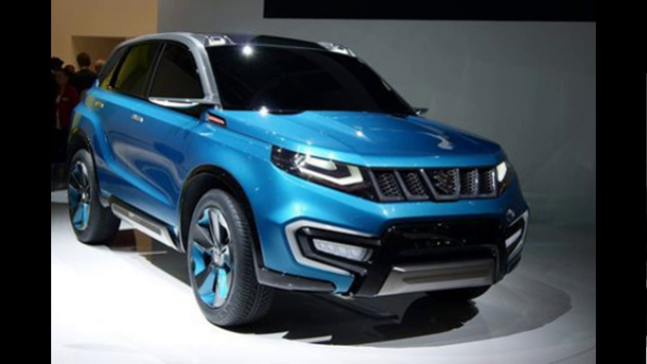 Concept Suv 2018 Suzuki All New Grand Vitara
