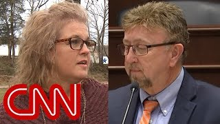 Woman secretly records lawmaker she says abused her
