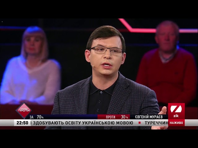 Мураев: Порошенко поделил украинское общество по вере, истории и культуре