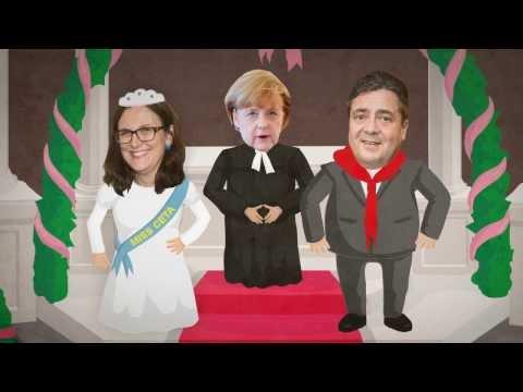 Eine gefährliche Liebschaft: Gabriel und Malmström für CETA