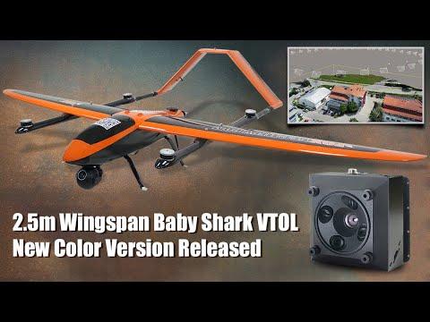 FOXTECH BABY SHARK 260 VTOL New Color Version