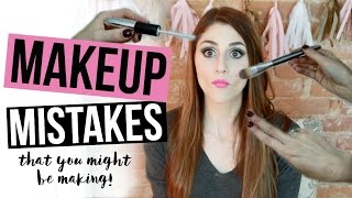6 Makeup Mistakes You Might Be Making