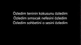 Selami Şahin Özledim Lyrics