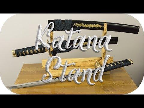 DIY • Wooden Katana Stand