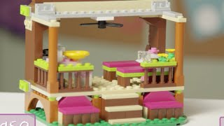"""LEGO® Building with Friends -  """"How To"""" Jungle Rescue Base"""