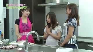 生徒はそれぞれの特技を持つ新人タレントさん・・・料理を作りながらの...