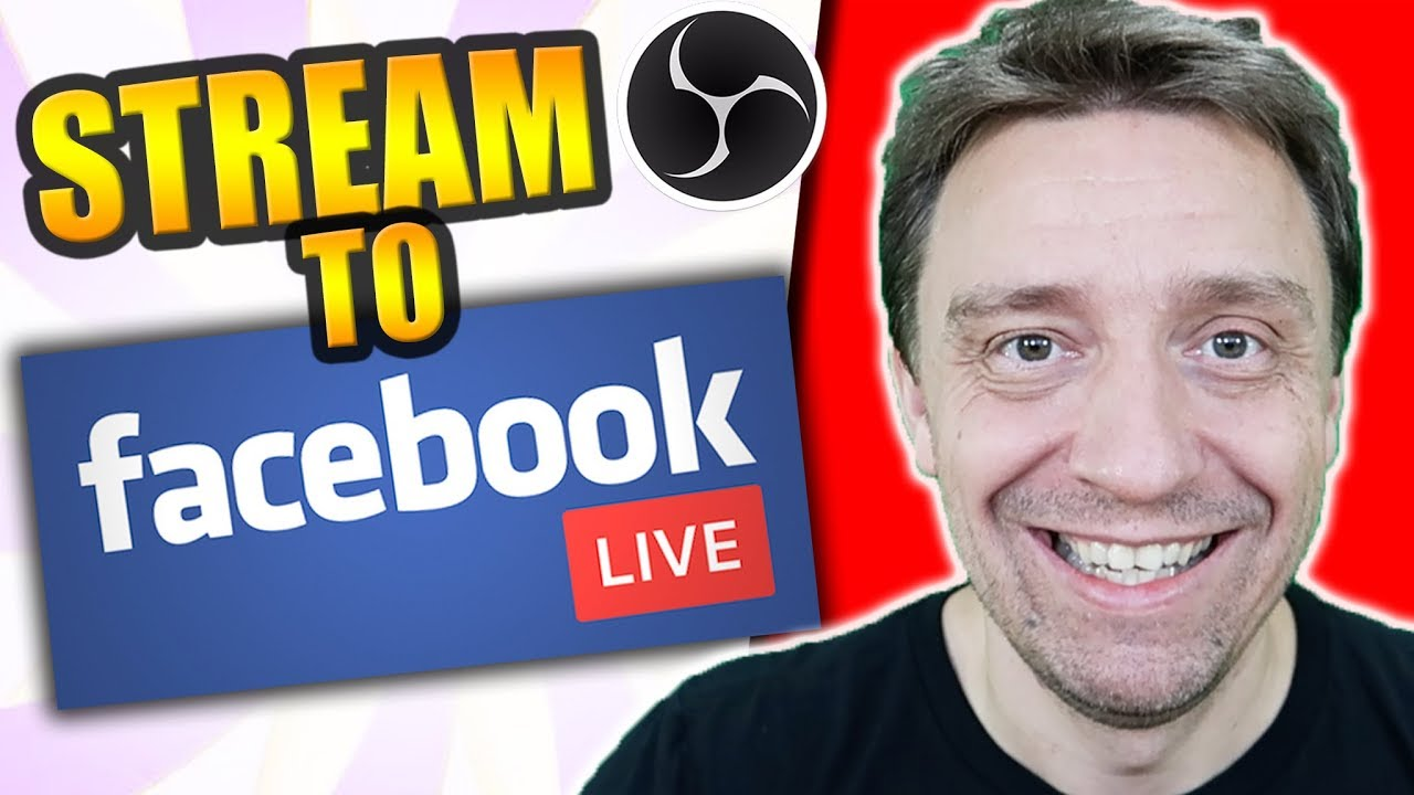 How To Facebook Live Stream From Pc With Obs Easy Quick Setup