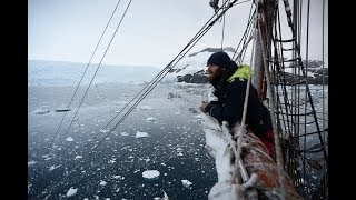 On expedition to Antarctica with bark EUROPA