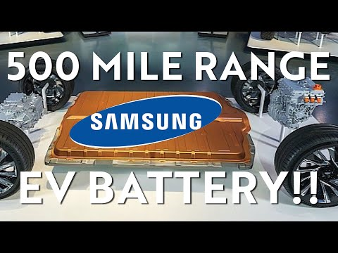 Samsung Developed a New Solid-State Battery!