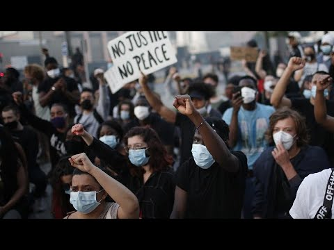 Франция - США: перекличка протестов