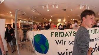 H&M Aktion Dortmund Fridays for Future 2.8.19