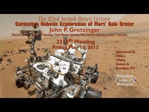 PSW 2318 Curiosity's Robotic Exploration of Mars' Gale Crater