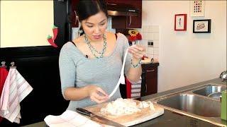 "How to Make Fresh Rice Noodles ""Ho Fun"" ก๋วยเตี๋ยวเส้นใหญ่ - Hot Thai Kitchen!"