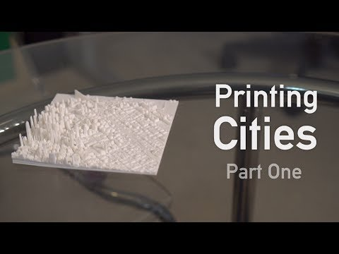 Printing Cities: Part One