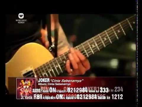 JOKER -Cinta Sebenarnya- (Official Video Clip) - YouTube.flv