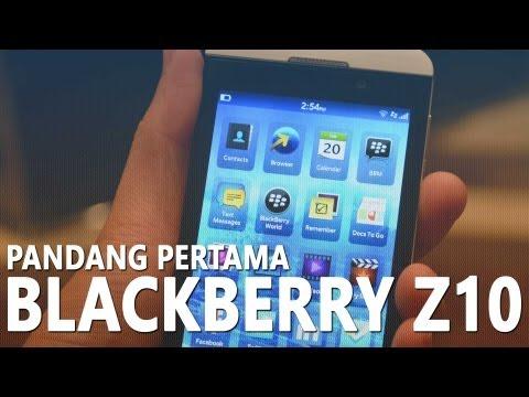 Pandang Pertama : BlackBerry Z10