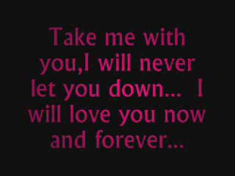 Take me with you - Secondhand Serenade LYRICS